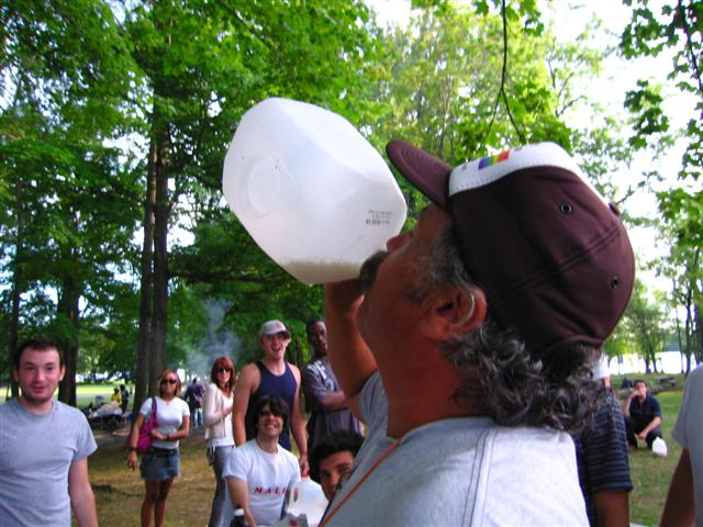 Photos from the 2006 Annual Gallon Challenge